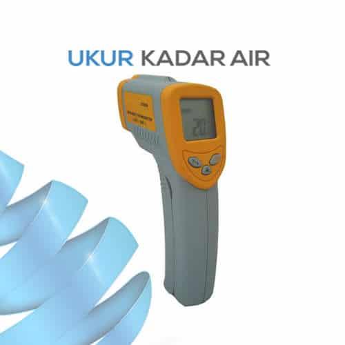 Termometer Inframerah AMTAST DT8280