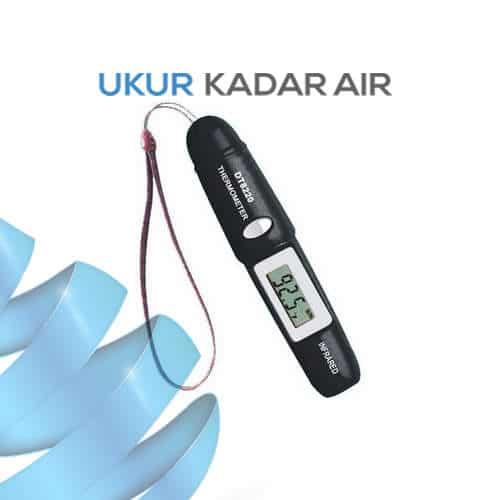 Termometer IR Portabel AMTAST DT8220