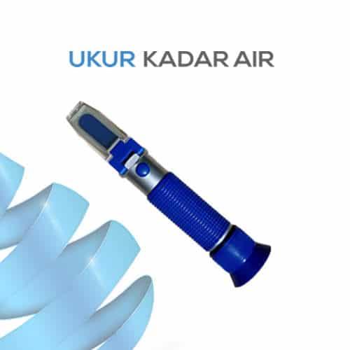 Alat Ukur Refraktometer Alkohol AMTAST RHW25ATC
