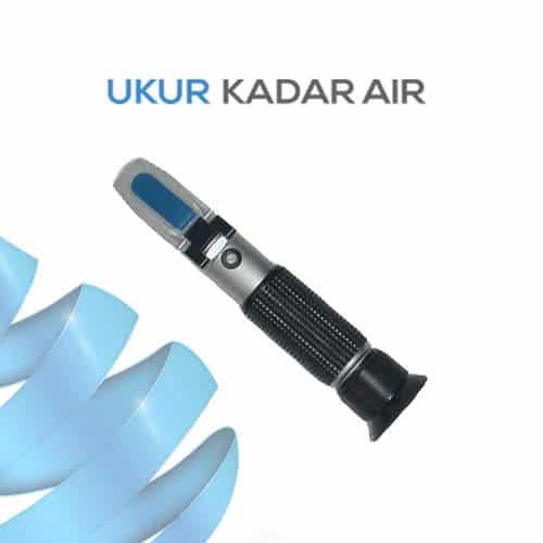 Alat Ukur Refraktometer AMTAST RHB18ATC