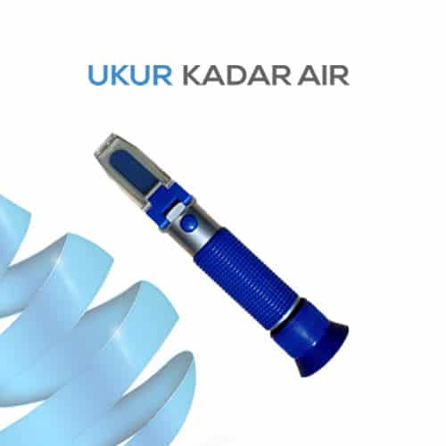 Alat Ukur Refraktometer AMTAST RHBS44ATC