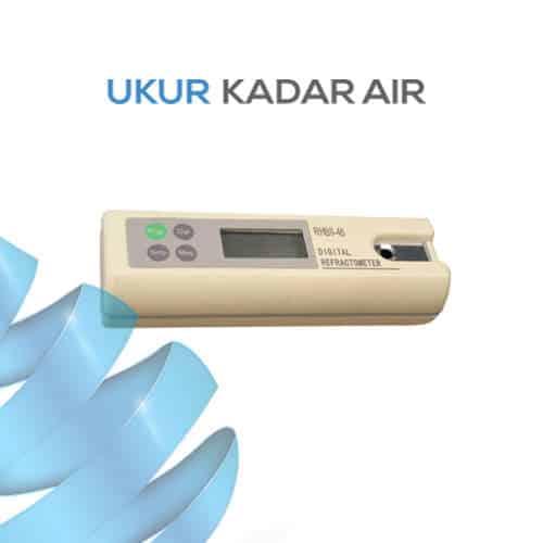 Alat Ukur Refraktometer Brix AMTAST DRB2865