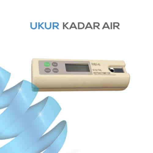 Alat Ukur Refraktometer Brix AMTAST DRB58-92