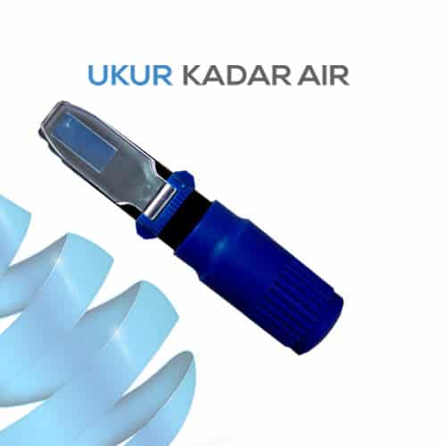 Alat Ukur Refraktometer Brix AMTAST RPB32