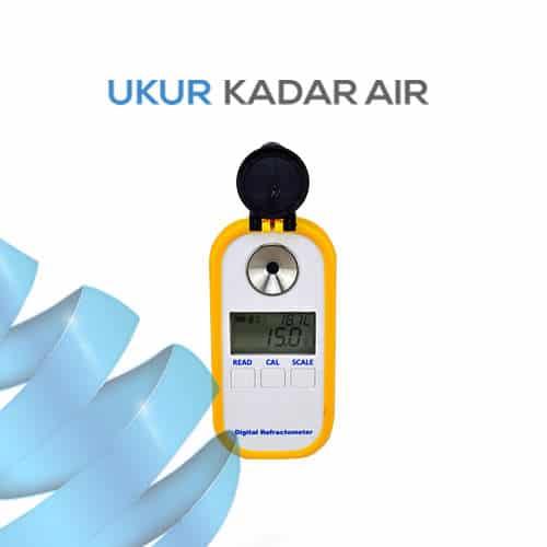 Alat Ukur Refraktometer Digital AMTAST AMR307