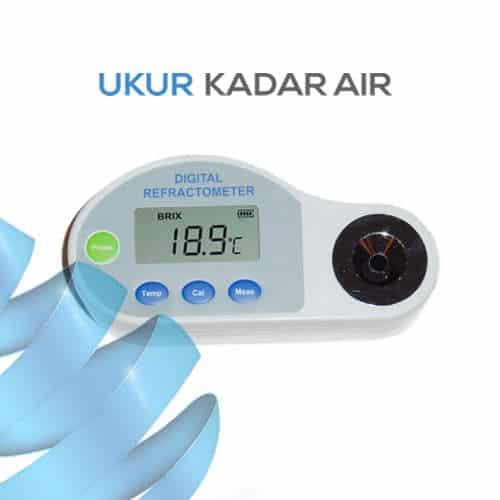 Alat Ukur Refraktometer Digital AMTAST DBR65