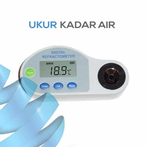 Alat Ukur Refraktometer Digital AMTAST DHN2