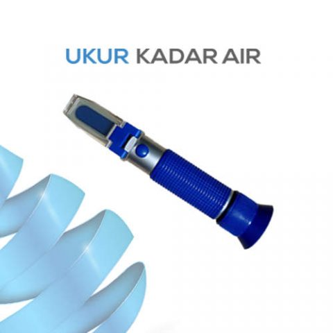 Alat Ukur Refraktometer Salinitas AMTAST RHS28ATC