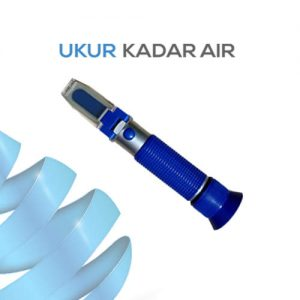 Alat Ukur Refraktometer Salinitas AMTAST RHS35ATC