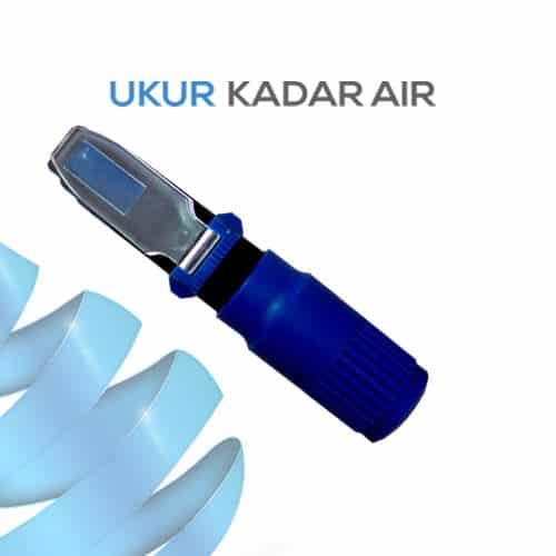 Alat Ukur Refraktometer Salinitas AMTAST RPS10