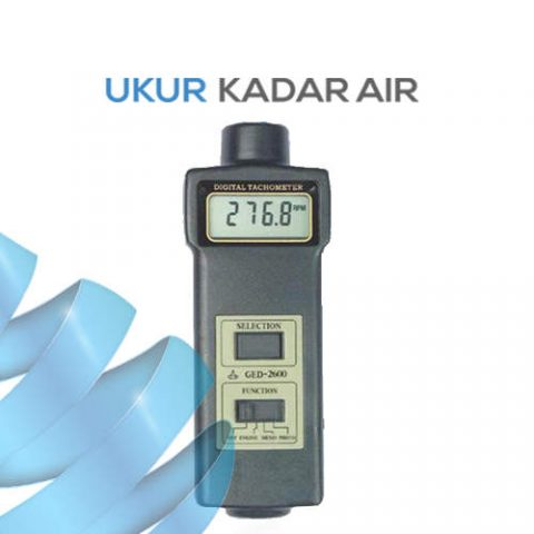 Alat Ukur Tachometer Multifungsi AMTAST GED2600